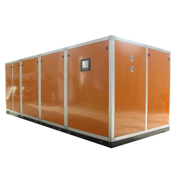 泳池热泵除湿机|泳池热泵除湿机组|三集一体卧式